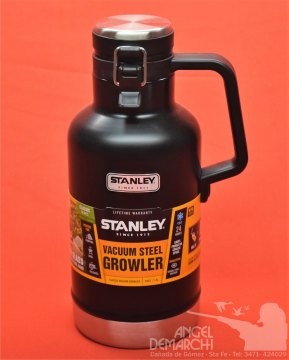 TERMO STANLEY MOD. GROWLER COLOR NEGRO 1,9 L
