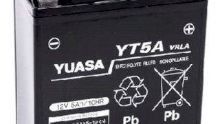BATERIA YUASA YT5A