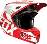 CASCO FOX V2 RACE ROJO TALLE L