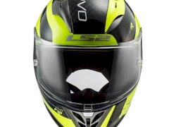 CASCO LS2 323 ARROW C EVO STING NEGRO AMARILLO