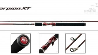 CAÑA SHIMANO SCORPION XT 15102R 1.78 mts 1 High power X goma eva 7-21 grs
