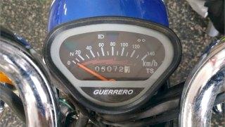GUERRERO DAY 70 2013 5100KM